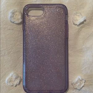 Speck Iphone 6s purple glitter case